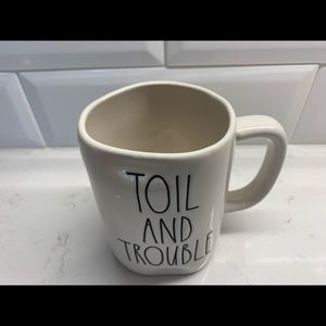 Rae Dunn Toil and Trouble Mug